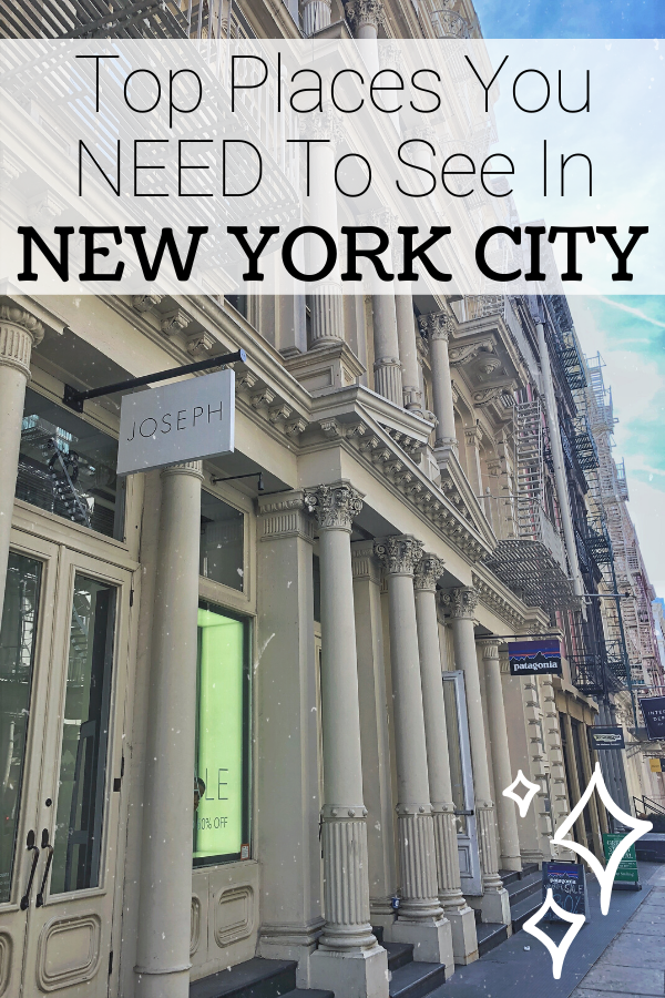 best places to see in New York City