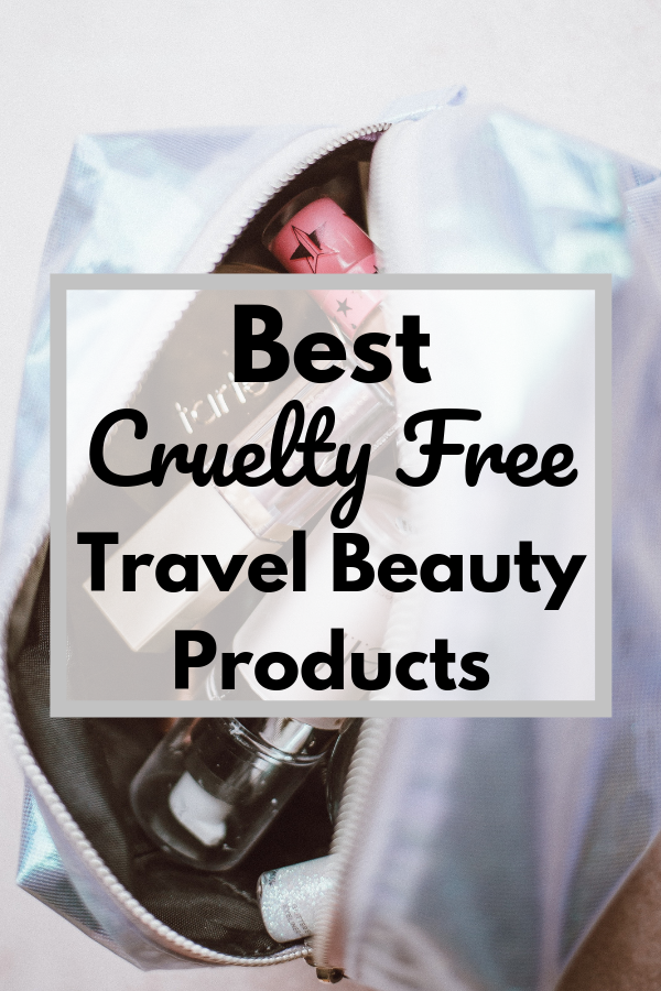 best cruelty free travel beauty products