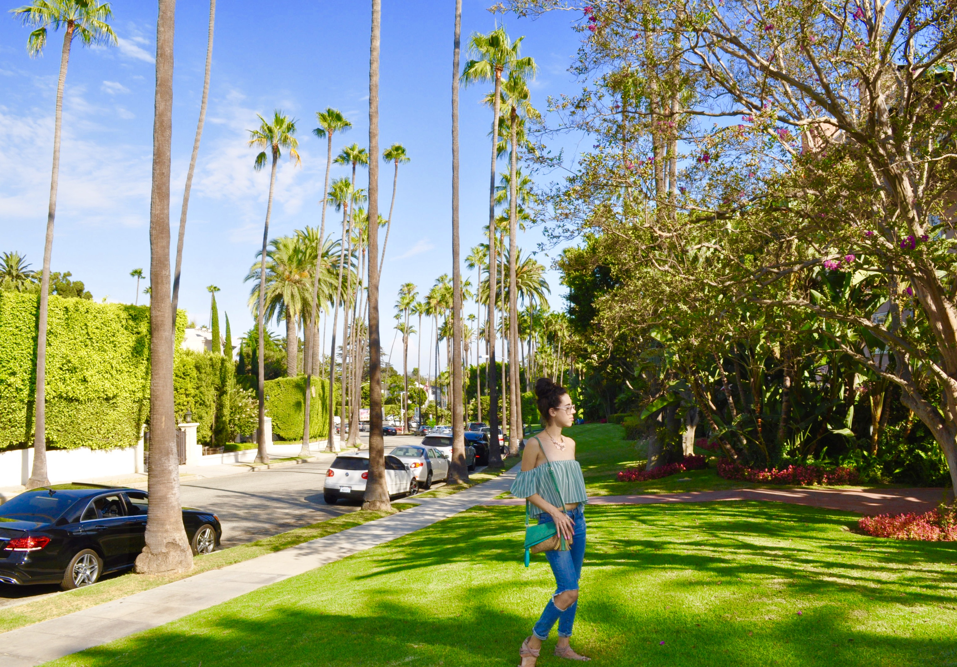 The Other Week I Went To Relax For Day At Beverly Hills Hotel Commonly Referred As Pink Palace With A Of My Blogger Friends