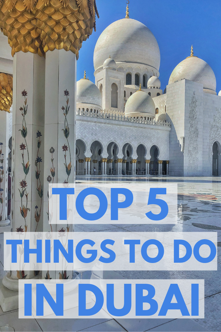 Dubai Travel guide things to do in Dubai