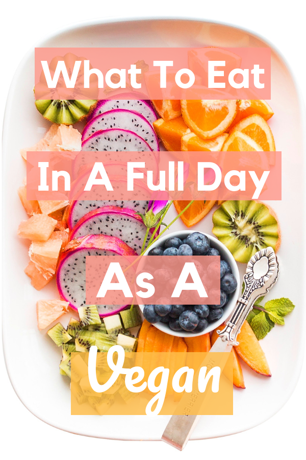 What I Eat In A Day Vegan