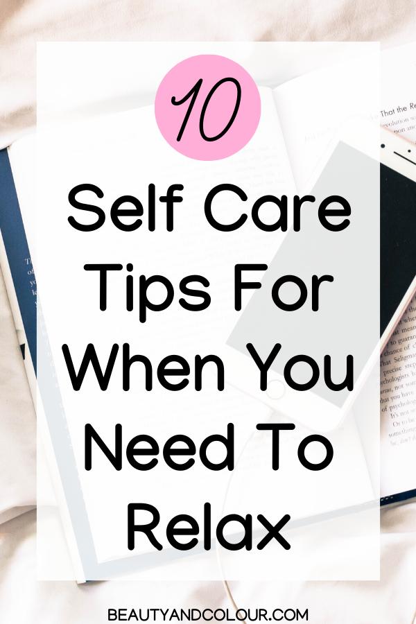 Self Care Ideas Tips Fall Winter