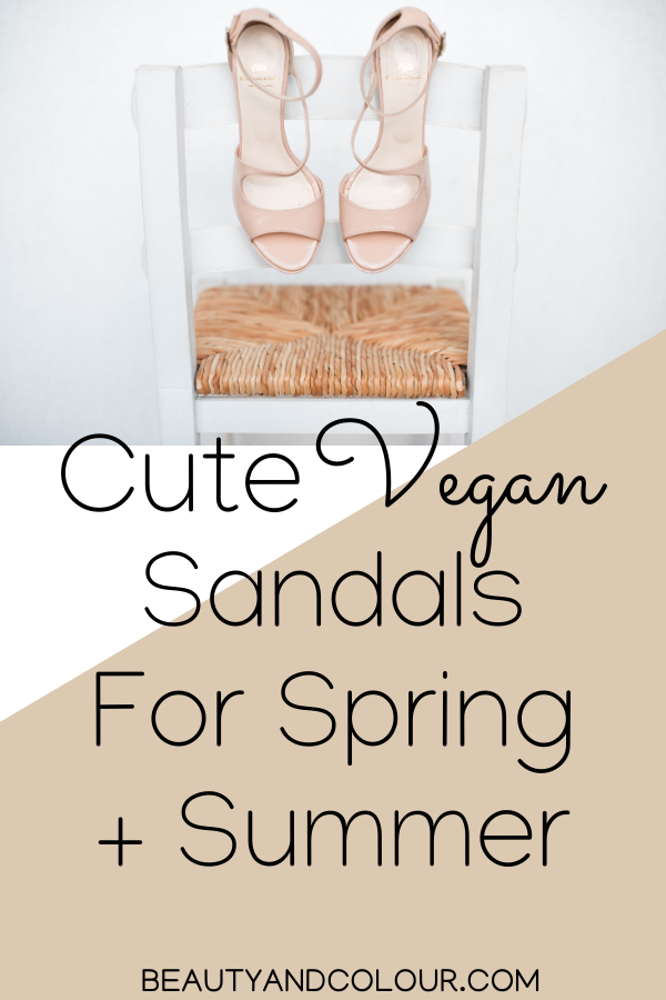 Cute Vegan Leather Sandals For Spring + Summer