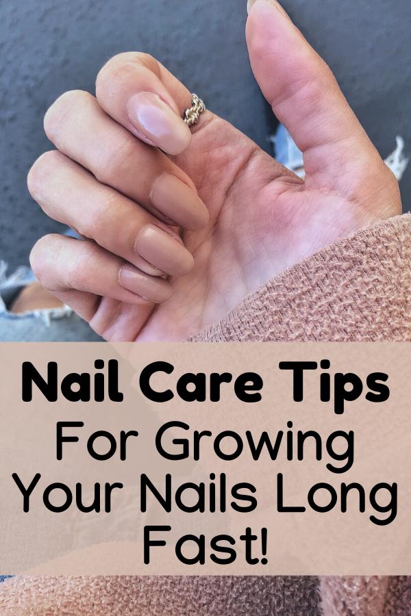 Nail Care Tips growing long healthy nails