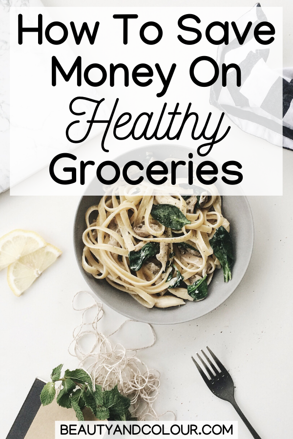 Save Money On Healthy Groceries