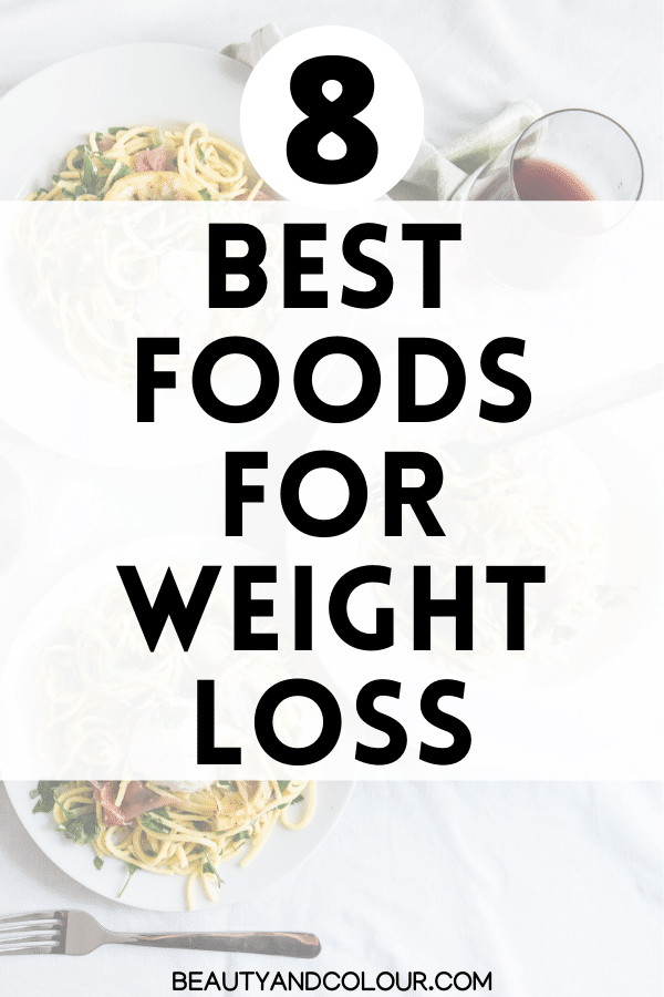 best foods weight loss plant based
