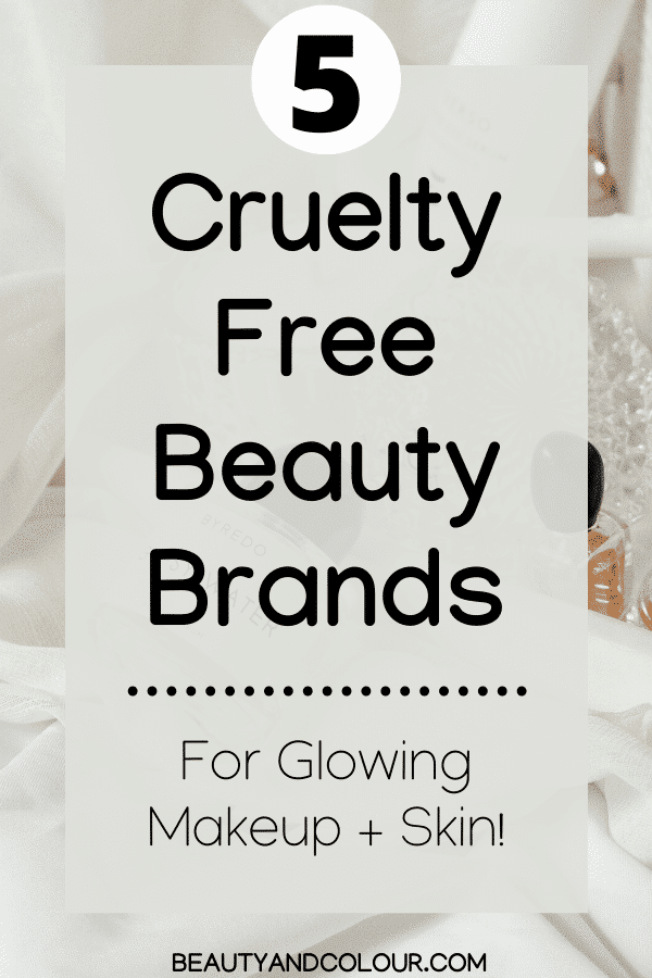 Cruelty Free Beauty Brands beauty and colour