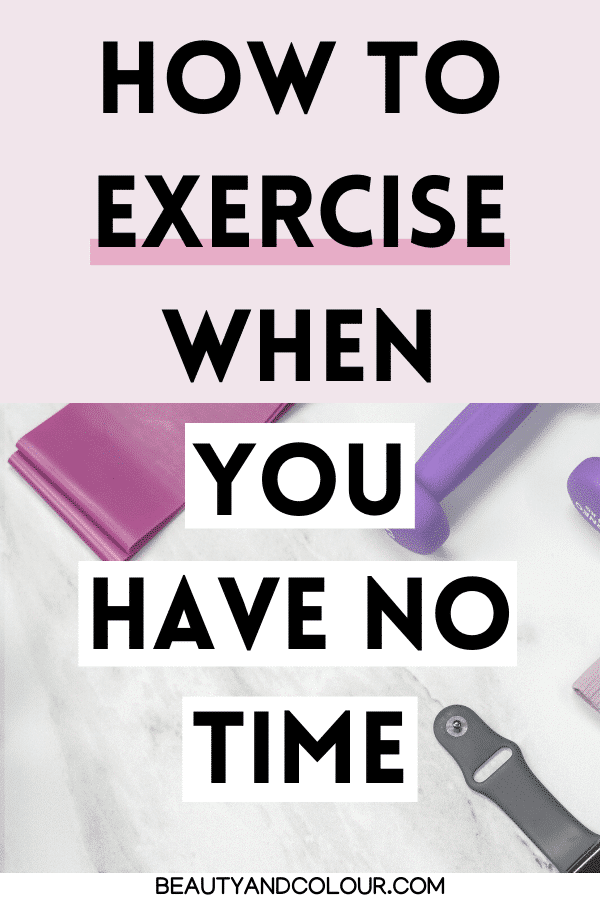 Create exercise routine With A Busy Schedule