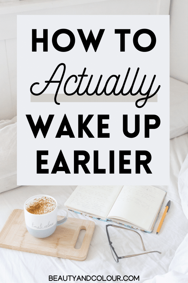 easy tips to wake up earlier