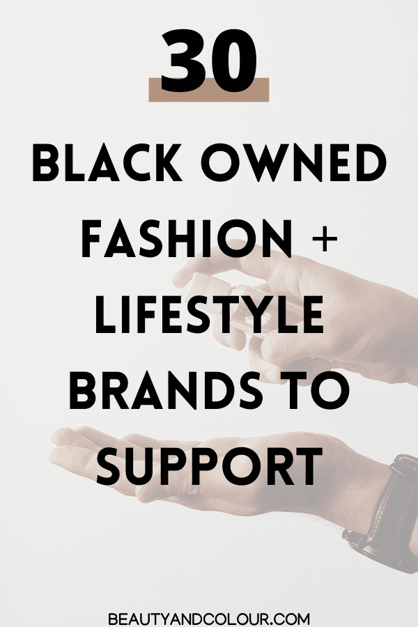 black owned vegan brands to support