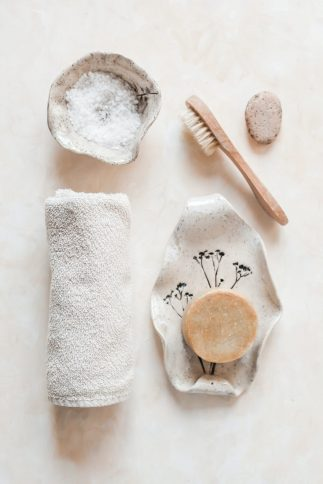 dry brushing for healthy glowing skin