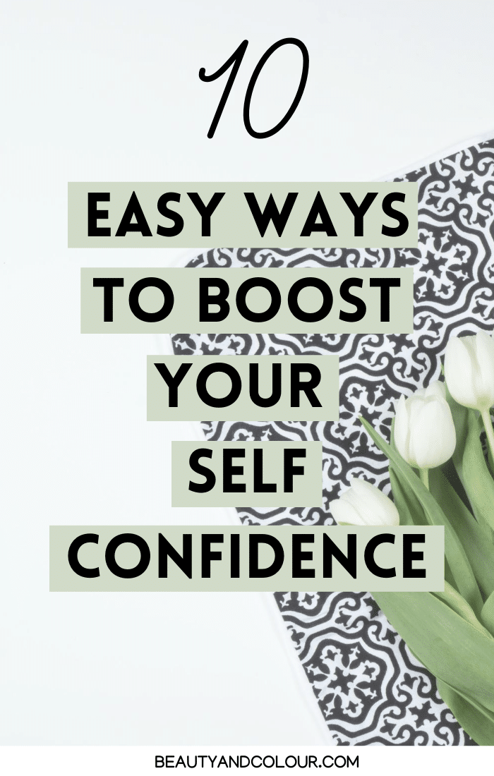healthy ways to boost self confidence